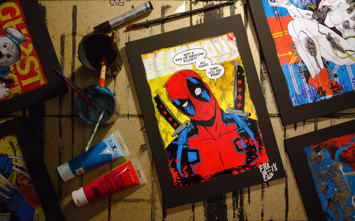Buy Now Arthole.it Pop Art original handmade Posters Artwork... Quadri e Poster originali Pop Art