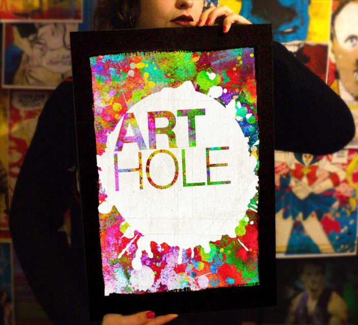Arthole.it - Original Handmade Pop-Art inspired by Comics, Movies and Fiction - Quadri Pop-Art originali e fatti a mano